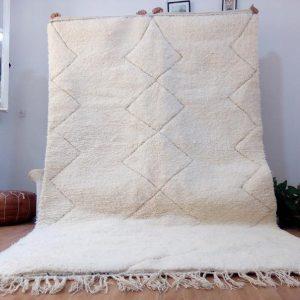 Beni Ouarain from morocco- beni ourain rug Style - Moroccan rug Wool Berber design - Handmade rug - Berber Rugs - Carpet from Morocco