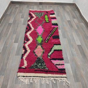 azilal runner rug moroccan runner morocco runner rug berber runner rug beni ourain runner pink azilal moroccan runner rug berber runner ru
