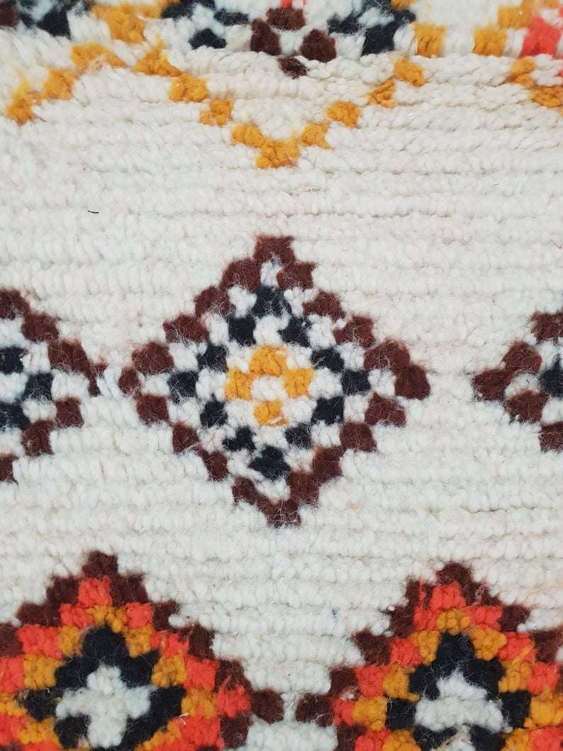 azilal carpet beni ouarain   Azilal Moroccan Rug   Moroccan Berber rug   Small Azilal Rugs