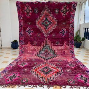 Boujad Rug , Boujaad Rug , Moroccan Rug , Morocco Rug , Berber Rug, Wool Rug 7x11