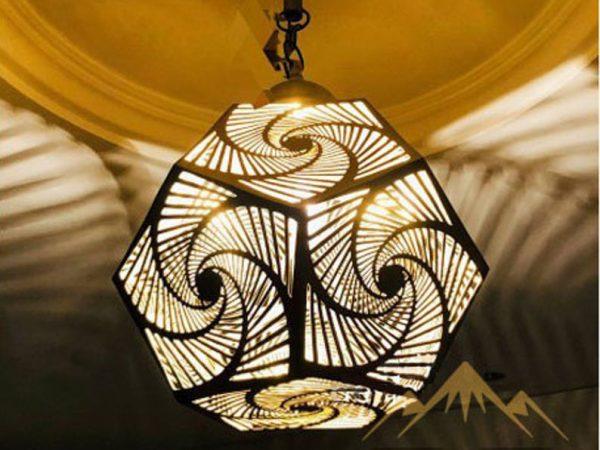 Moroccan Pendant Light Brass Lampshades ceiling, Boho Decor, Moroccan light fixture Lamp Handmade Engraved, New Home Decor Lighting