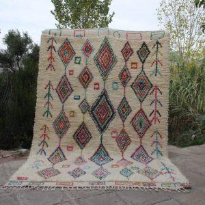 9.51x6.46 ft Berber Azilal rug,azilal rugs,azilal berber rug,Moroccan rug,berber rug, moroccan carpet , azilal, beni ourain rug,rugs