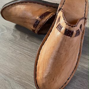 Handmade Comfortable Leather Slippers, Moroccan Shoe for Men & Women. Home Babouche, Handcrafted Shoe, High Quality Leather Slippers.