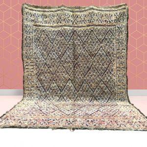 kechart- 6x9ft Moroccan Vintage Beni Mguild rug,Hallway Moroccan rug, Beni Mguild rug, Beni Mguild, berber rugs, Moroccan rug, Moroccan rug