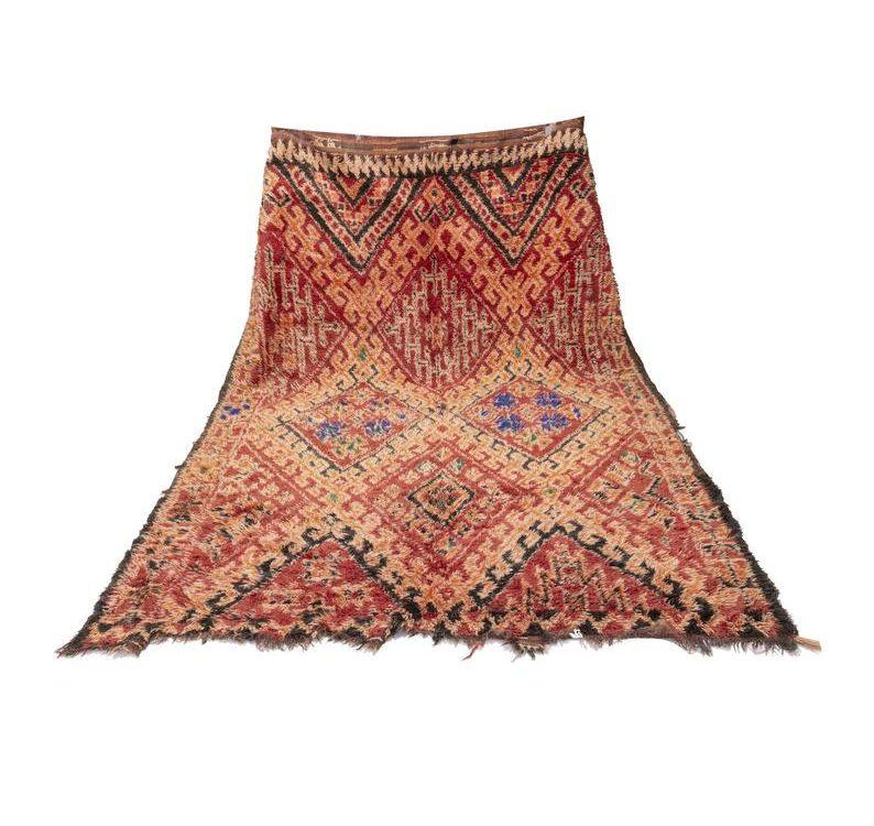 Charming Beni mguild rug , wool rug , vintage rug , Authentic handmade Kraft , berber teppich , tapis berbere