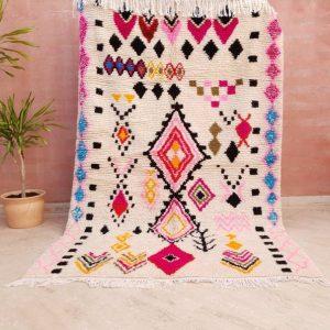 colorful rug morrocan azilal