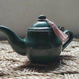 Traditional Saharawi Tin Teapot - Handmade in Morocco