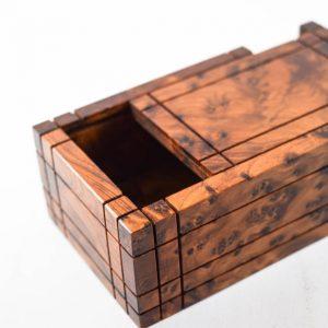 Secret Jewelry Box Case - Wooden handmade box, Gift Wooden Box - Wooden Magic Puzzle - Secret mecanism Lock box wooden craft,