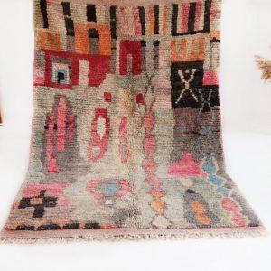 Boujad Area Rug | Boujad Rugs Morocco | Vintage Boujad Moroccan Rug