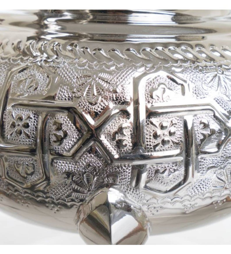 Moroccan handmade tea pot