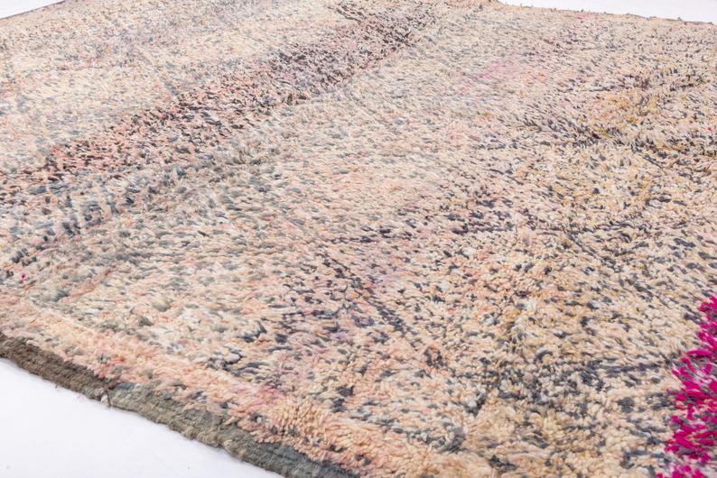 Beni Ourain rug vintage