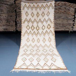 Moroccan Azilal Rug 10.17 ft x 4.19 ft, Authentic Azilal Rug, Azilal Moroccan Area Rug, Berber handmade carpet, Moroccan Rug, Wool Rug