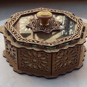 Laser cut Decorative Moroccan WOODEN BOX - Box Chocolate - Jewelry Box- Gift for her - Gift for women