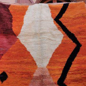 Custom Fabulous Boujad Rug, Authentic Moroccan Rug, Azilal rug, Abstract Multicolored Carpet, Handmade Moroccan Rug, Bohemian rug