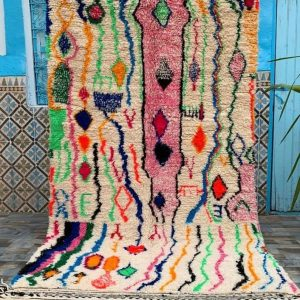 Custom Made Beautiful Azilal Rug - Moroccan Handmade Rug