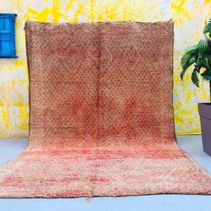 Vintage Boujad rug 6.9 FT x 10.3 FT - Morocco rug - Moroccan carpet - Handmade rug - Beni Mguild - Teppich 7x10