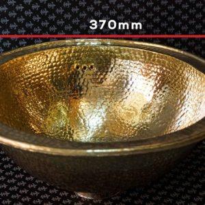 Moroccan BRASS/ laiton Vessel Sink 37 CM , Art Basin Round Bowl Vanity, Arabic Bathroom VESSEL Sink