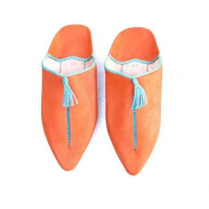 moroccan slippers for womens, leather slippers, gift for wedding, traditionally shose handmade.
