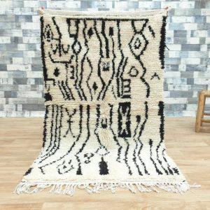 azilal carpet beni ouarain | Azilal Moroccan Rug | Moroccan Berber rug | Azilal Carpet