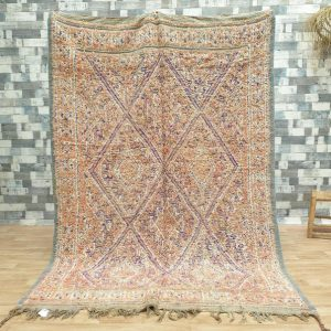 8.7″x6.0″ Morocco Vintage Beni Mguild, Moroccan Beni Mguild Rug, Vintage Beni Mguild Rug, Moroccan Vintage Carpet, Morocco Rug. AJV141