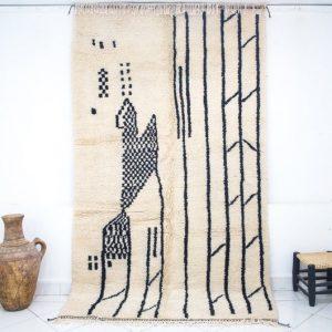 Beni Ourain Rug,Authentic Moroccan Rug,Custom Berber Rug,Handmad Wool Rug,Berber Teppich,Vintage Berber Rug,Moroccan Teppich,Moroccan Carpet