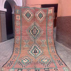 BEAUTIFUL MOROCCAN RUG Moroccan carpet Beni Mguild rug