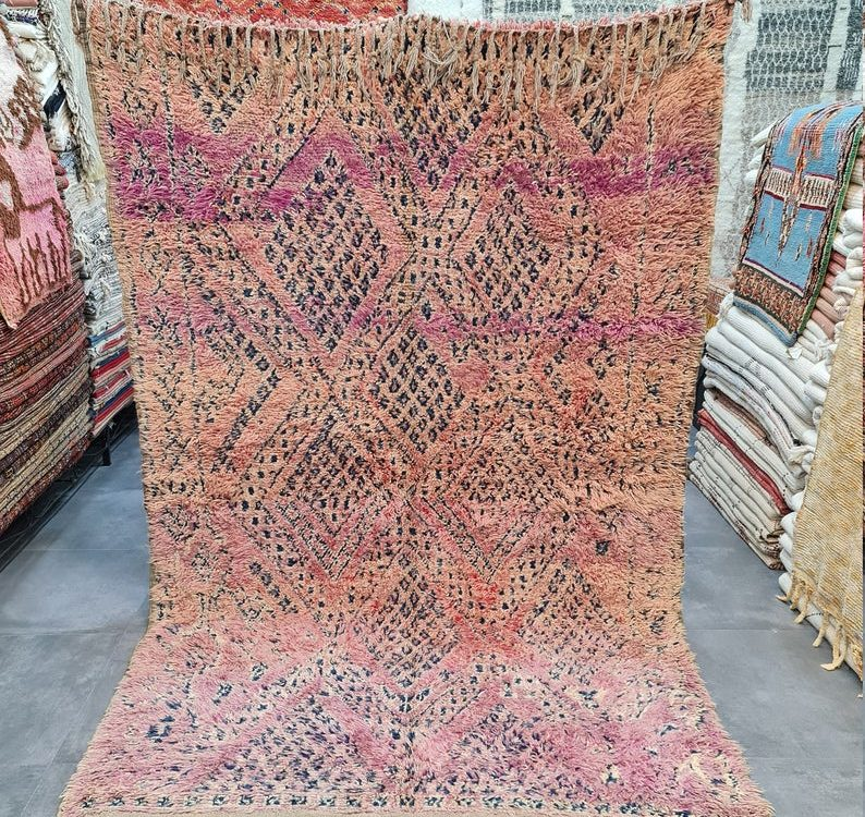 Morocco Vintage Beni Mguild berber Rug, Moroccan Beni Mguild Rug, Vintage Beni Mguild Rug, Moroccan Vintage Carpet, Morocco Rug