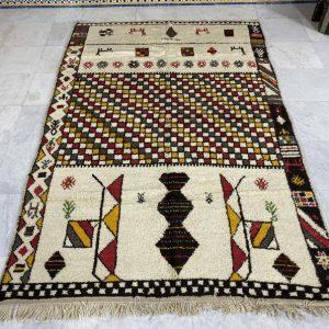 Fantastic Azilal Rug, Interior Decor, Home Rug, Free Shipping, Moroccan Berber Carpet,