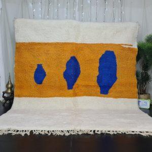 Gorgeous Moroccan Rug , Handmade Beni Ourain Rug, Authentic Moroccan Rug, Azilal Rug, Berber Rug, Abstract Carpet, Bohemian rug