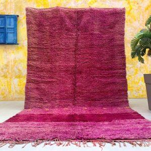 Moroccan Purple rug 6.2 FT x 10.7 FT, Tribal Rug Kilim Moroccan Carpet Hand Woven Rug, Large rug, Morocco carpet 6x10