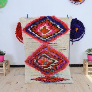 Vintage Moroccan Azilal Rug | Azilal Berber Rug | Vintage Azilal Rugs