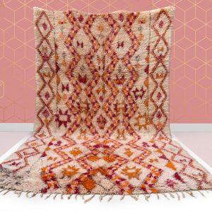 kechart - 6x10ft Beautiful Moroccan Beni Ourain rug, Hallway Moroccan rug, Beni rug, BeniOurain, berber rugs, Moroccan rug, 193 cm x 300 cm