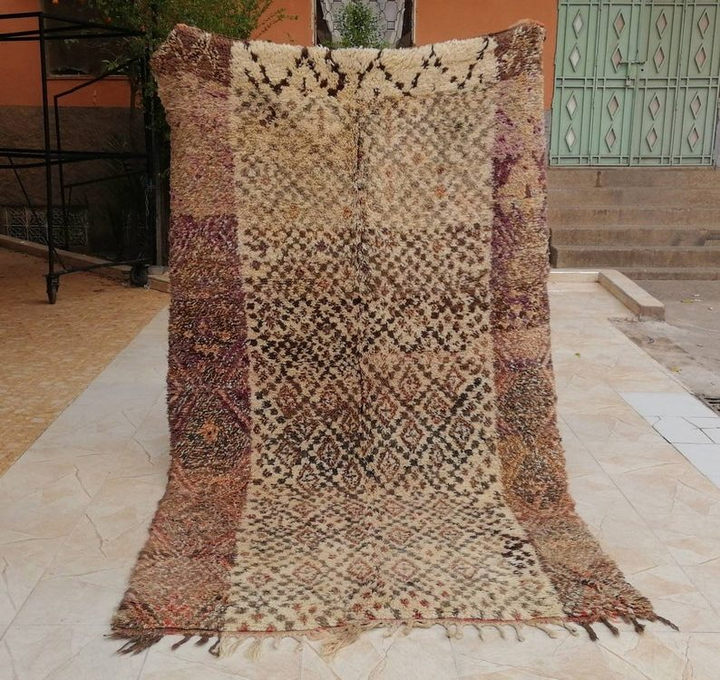 Tapis Boujaad tapis marocain Tapis berbère fait main floor rug moroccan carpet boho Style beni mguild beni ouarain hand made beni azilal
