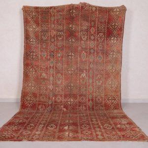 Bohemian Moroccan rug 5.2 FT X 10.5 FT - Large Boho rug - Moroccan berber rug - Azilal rug