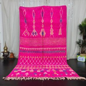 Fabulous Moroccan Rug , Boujaad Rug, Azilal Rug, Bright Pink Rug, Authentic Moroccan, Handmade Moroccan Rug, Berber carpet, Bohemian Rug.