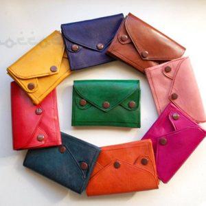 Moroccan leather wallet, Multi-Pocket purse, handmade wallet, 5 pockets, Moroccan design, unisex wallet, wallet man, wallet woman, Morocco