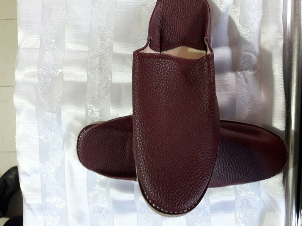 Moroccan Handmade Traditional Berber Babouches For Women,Authentic Leather shoes s