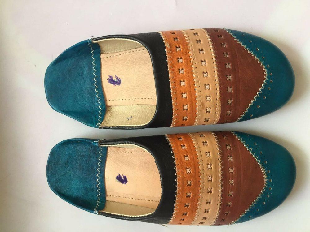 traditional moroccan handicraft women slippers
