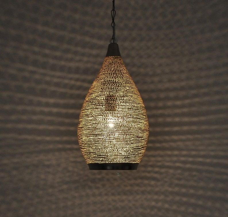 Moroccan Pendant Light, Moroccan lamp,Pendant Lighting,Moroccan Pendant Lamp,ceiling light,Pierced ceiling light,Modern Moroccan Lamp