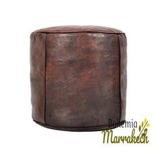Pouf Luxury Royal Ottoman Moroccan Pouf Leather Original Leather Pouf Ottoman Select Size for Big Pouf