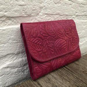 Pink Leather Women's Wallet