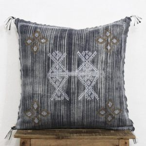Sabra Silk Inspired Handmade 20 X 20 Cotton Cushion Cover Cactus Silk Moroccan Silk Pillow Cover Cushion Couch Sofa Pillow Cover