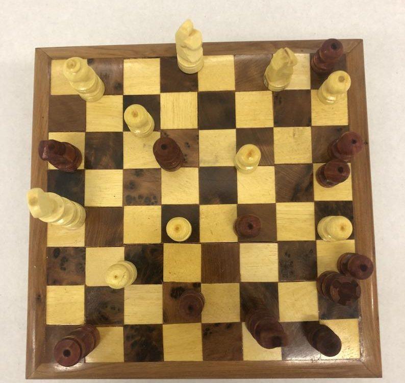Moroccan Handcrafted thuya wood chessboard hame