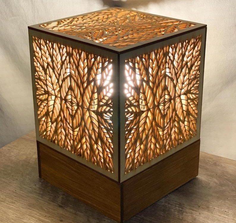 Geometric Accent Lamp