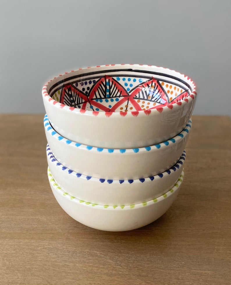 Ceramic Bowls, Cereal Bowls, Ice Cream Bowls, Dog Bowls, Ramen Bowls, Cat Bowls, Pasta Bowls, Soup Bowl, Handmade Pottery, Mother's Day Gift