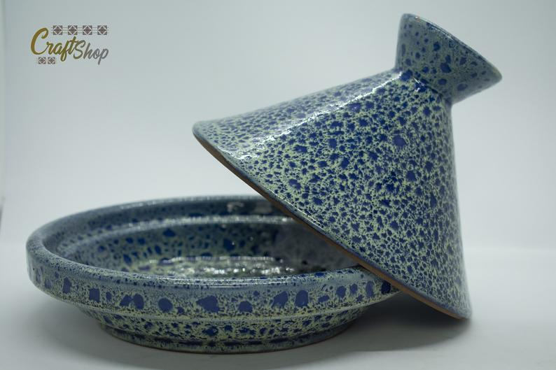 Handcrafted Decorative Moroccan Ceramics Tagine, Ceramic Glaze, Decorative Tagine, Moroccan Tagine,