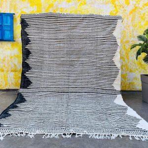 Moroccan kilim rug - 8x12 Flat woven rug