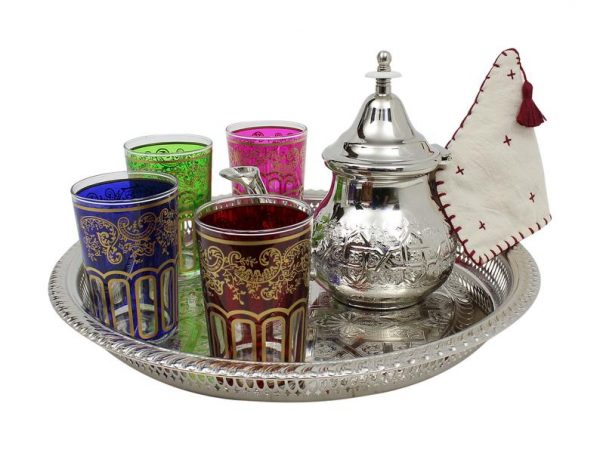 Moroccan Teapot With Strainer