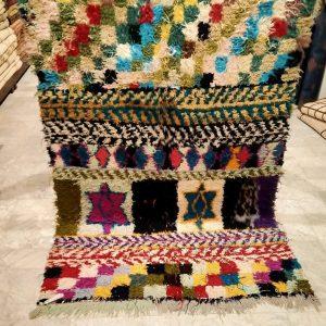 Boucherouite, rag rug, boucherouite rug large, tapis marocain, vintage boucherouite, tapis berbere, berber carpet