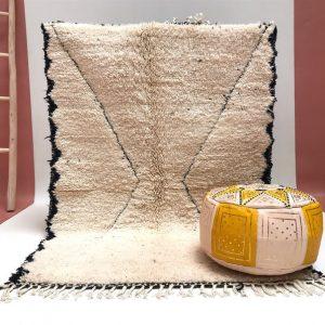 Morocco rug 4x5 - Moroccan carpet - Handmade rug - Vintage rug - Vintage Boujad rug - oriental carpet - Boujad carpet - Berber Rug